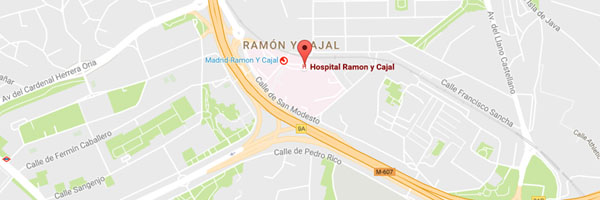 Google Maps - Hospital Ramón y Cajal